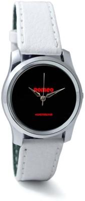 PosterGuy BigOwl Romeo #Lostinlove Women's Analog Wrist Watch-2124095936-RS2-S-WHT Analog Watch  - For Women