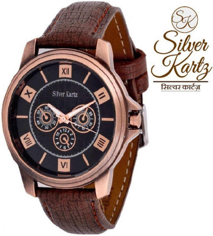 Silver Kartz WTM 008 Analog Digital Watch For Men