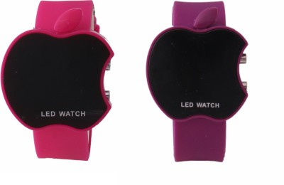A-ONE led apple watch 004 for couples Analog-Digital Watch  - For Couple