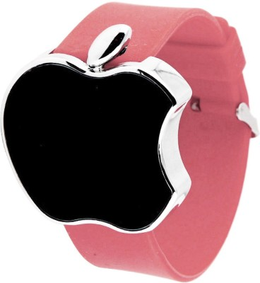 Castech Metallic Apple Shape Touch Screen LED Digital Watch  - For Boys, Girls