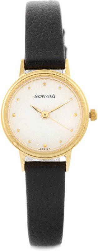 Sonata 8096YL01C Analog Watch For Women