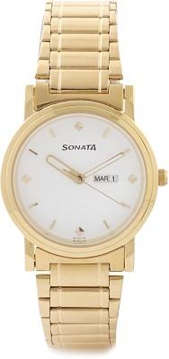 Sonata NC1141YM11 Classic Analog Watch  - For Men
