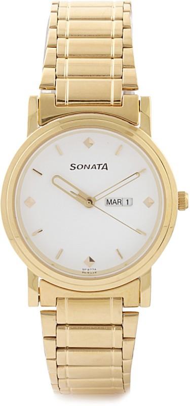 Sonata NC1141YM11 Classic Analog Watch For Men