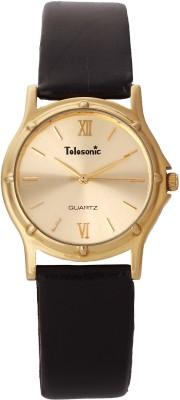 Telesonic 19RGRM-103 GOLD Shubham Series Analog Watch  - For Men