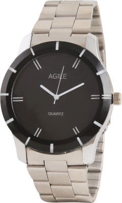 Agile AGM_028 Stainless steel Analog Watch  - For Boys, Men