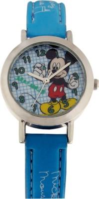Disney 3K2176U-MK (LIGHT BLUE) Analog Watch  - For Boys, Girls