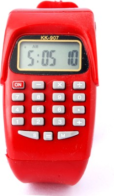 D&S Collection calculater-kk907 Digital Watch  - For Boys, Girls