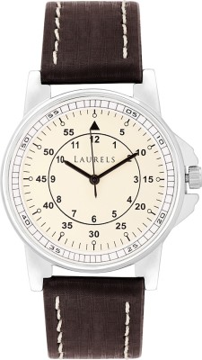 Laurels Lo-Vin-101 Vintage Analog Watch - For Men