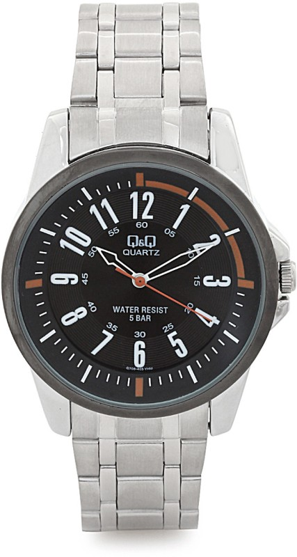QQ Q708N405Y Analog Watch For Men