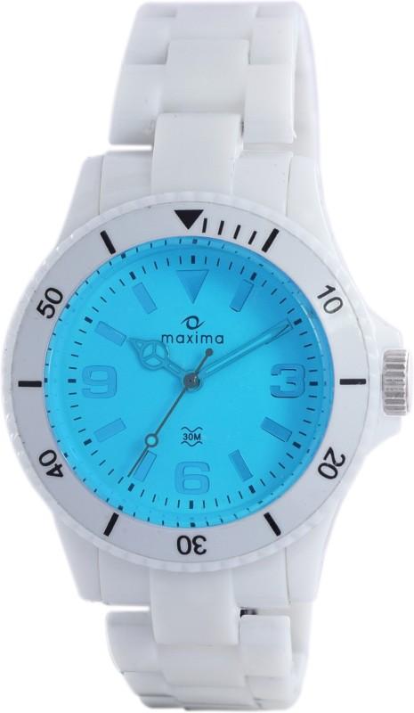 Maxima 31801PPLN Hybrid Analog Watch For Women
