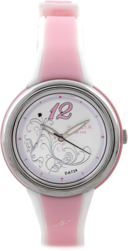 Sonata NF8962PP01 Superfibre Analog Watch For Women