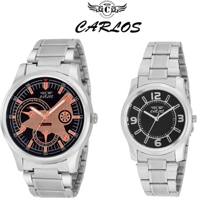 CARLOS CR_ELITE-003548 Analog Watch  - For Couple