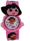 S S TRADERS Kids Red Colour Analog Watch...