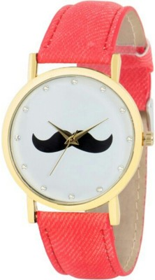 Rich Club Moustache~SWAG Analog Watch  - For Boys, Men