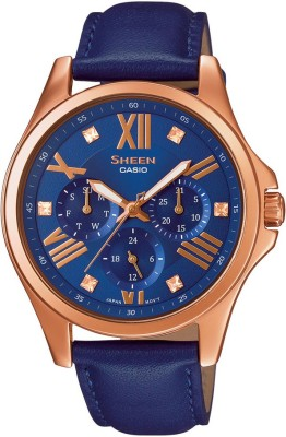 Casio SX147 Sheen Analog Watch  - For Women