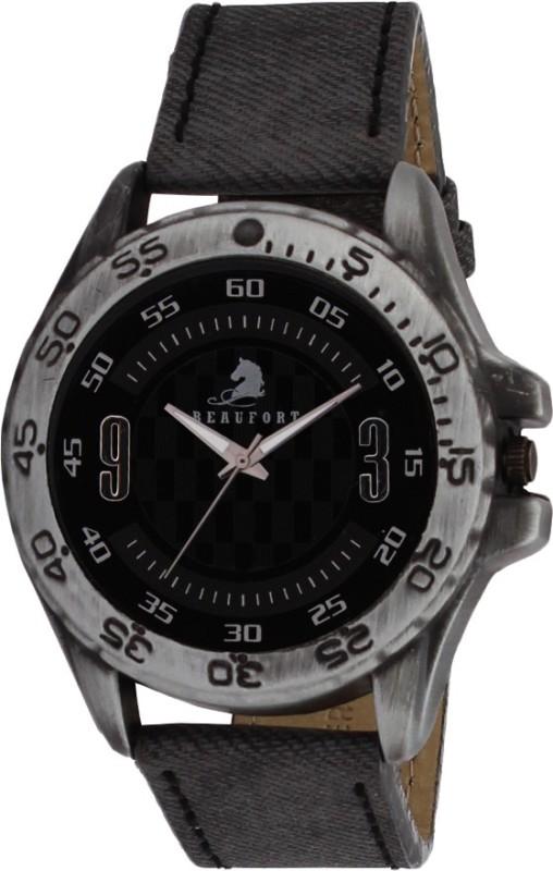 Beaufort BT 1208 BLK Analog Watch For Men