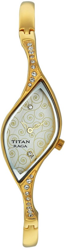 Titan NF9710YM01 Crystal Analog Watch For Women