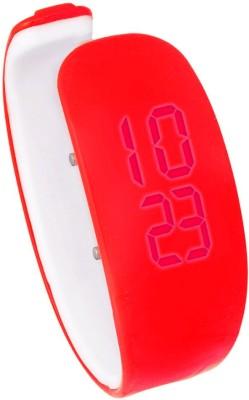 Hari Krishna Enterprise Ring Led Red Digital Watch  - For Boys, Men