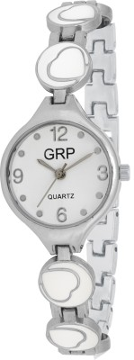 dazzle GRP-LR101-WHT-CH GRP Analog Watch  - For Women