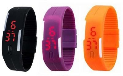 Fox Band watch Pack of 3 Digital Watch  - For Boys, Men, Girls, Women, Couple