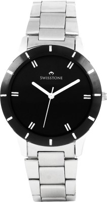 Swisstone ST-LR002-BLK-CH Analog Watch  - For Women, Girls