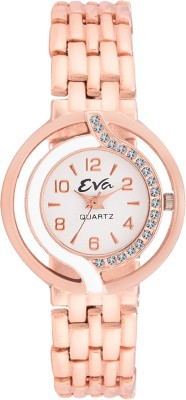 EVA LADIES-DL-LR5005-CPR-CH Analog Watch  - For Girls