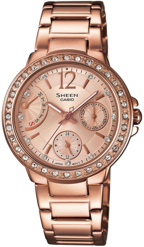 Casio SX135 Sheen Analog Watch For Women