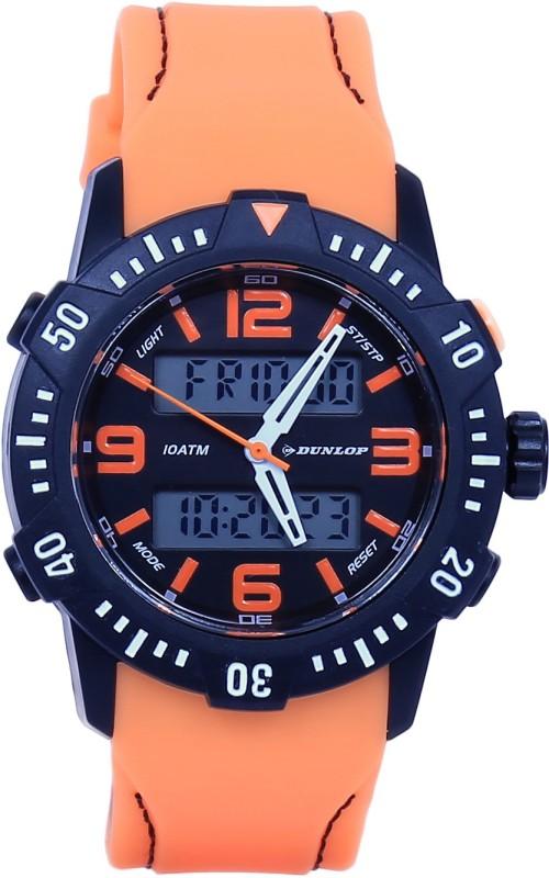 Dunlop DUN 264 G08 Analog Digital Watch For Men