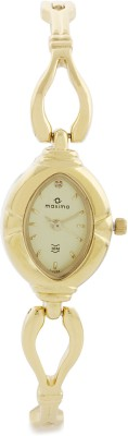 Maxima 07174BMLY Gold Analog Watch - For Women
