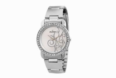 Dezine DZ-LR901-WHT-CH Analog Watch  - For Women