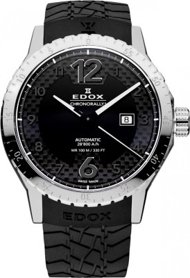 Edox 80094 3 NN Chronorally Analog Watch  - For Men