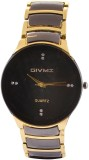 Givme R Shape Analog Watch  - For Men