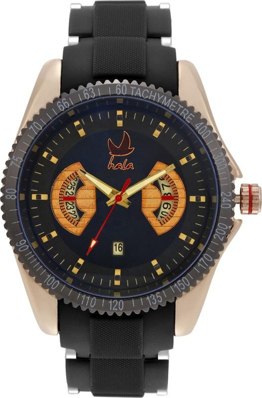 Hala Fashion Standard New HL610 BLK Analog Watch For Men