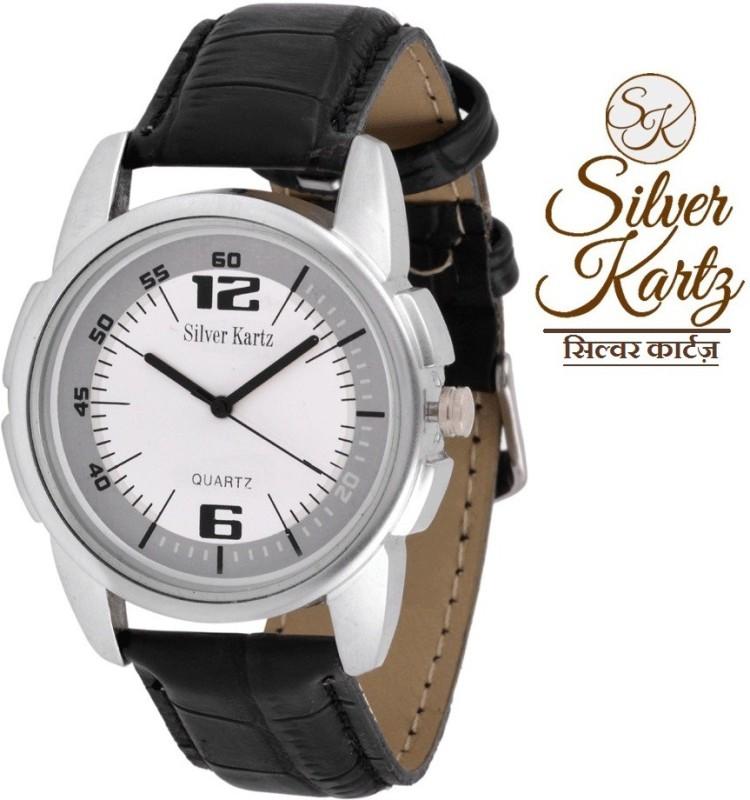 Silver Kartz WTM 010 Analog Digital Watch For Men