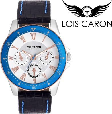 Lois Caron LCS-4096 CHRONOGRAPH PATTERN Analog Watch  - For Boys, Men