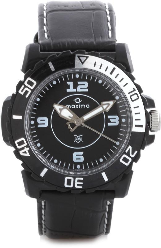 Maxima 29729LPGW Hybrid Analog Watch For Men