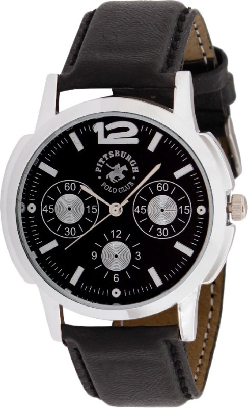 Pittsburgh Polo Club PBPC 475 BLK370 Analog Watch For Men