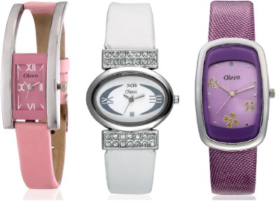 Oleva OVD812 Analog Watch  - For Women
