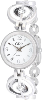 dazzle GRP-LR102-WHT-CH GRP Analog Watch  - For Women
