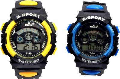 TCT sports45 combo set of 2 Digital Watch  - For Couple