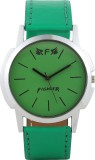 Fighter New Latest Casual Green Leather ...