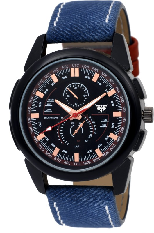 Fadiso Fashion FF 3123BLK Expedition Analog Watch For Men