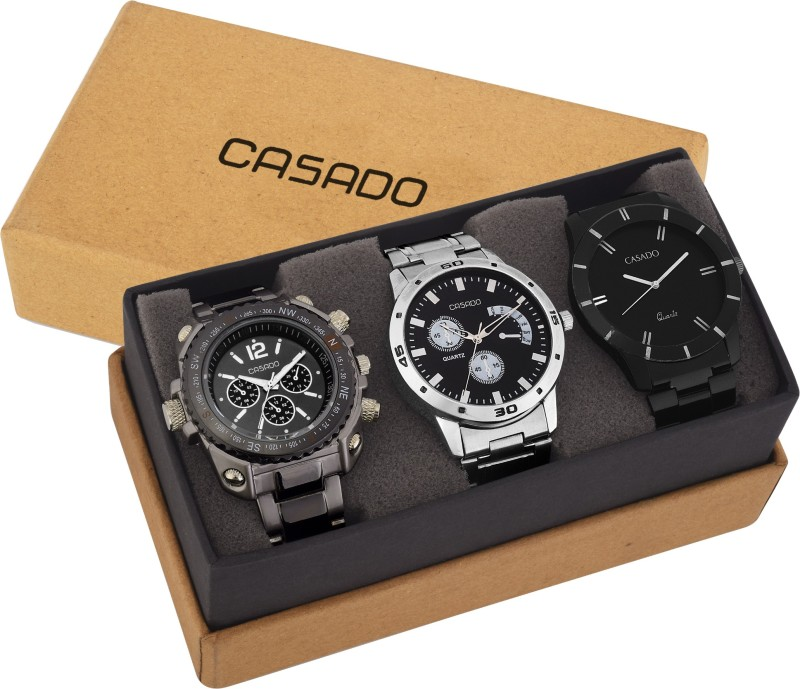 Casado 760and150and113 Combo of 3 Corporate Series Analog Watch