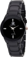 IIK Collection Black Analog Watch For Men
