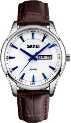 Skmei Gmarks-5219-Blue Hands White Sports Analog Watch - For Men & Women