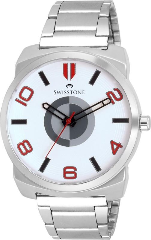 SWISSTONE FTREK028 WHT CH Analog Watch For Men