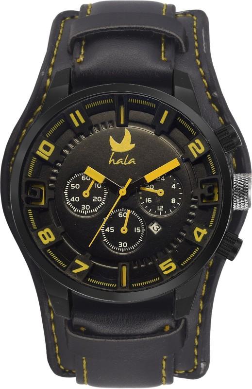 Hala Novelty Standard Date FBHA013Y Analog Watch For Men