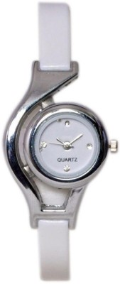 A R Sales Designer White Wc Analog Watch - For Women