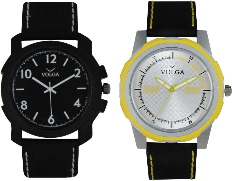 VOLGA Branded Leather Quality Designer Dial Diwali WATEN6XKFRGCXGC2