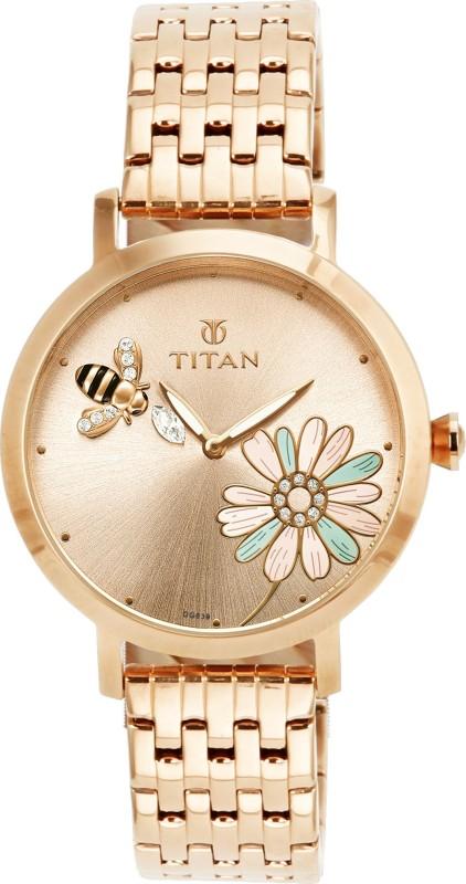 Titan 95050WM02J Analog Watch For Women